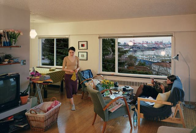 Jeff Wall, apartment