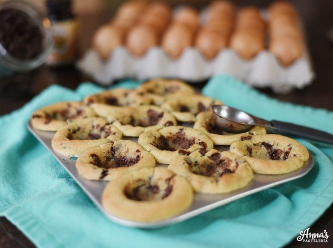 Cookie cups (shots de galleta) con Nutella! » Anna's Pastelería