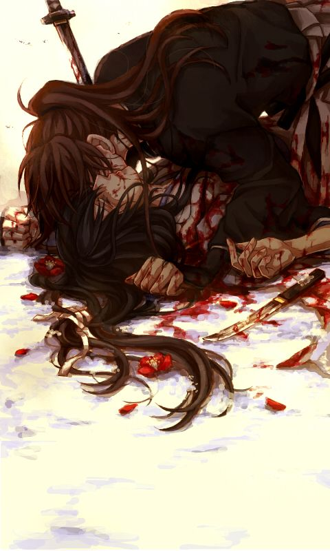 Kenshin and Tomoe - this is stunning and heartbreaking all at once