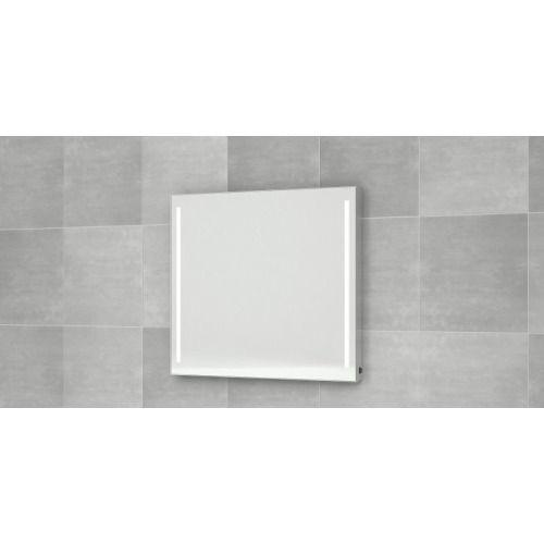 402,-  Bruynzeel spiegel 90x70 vert.led verlichting anticondens aluminium - 232007 - Sanitairwinkel.nl