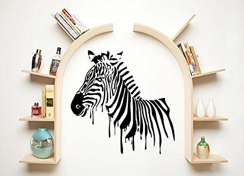Wall Decals Zebra Animals Jungle Safari African Childrens... https://www.amazon.com/dp/B00VBY08LU/ref=cm_sw_r_pi_dp_x_acI.ybQM1Z6XW