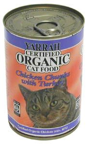 yarrah organic cat food 400g can certified organic cat food #nutrition #feline - more fact about cats food at Catsincare.com!