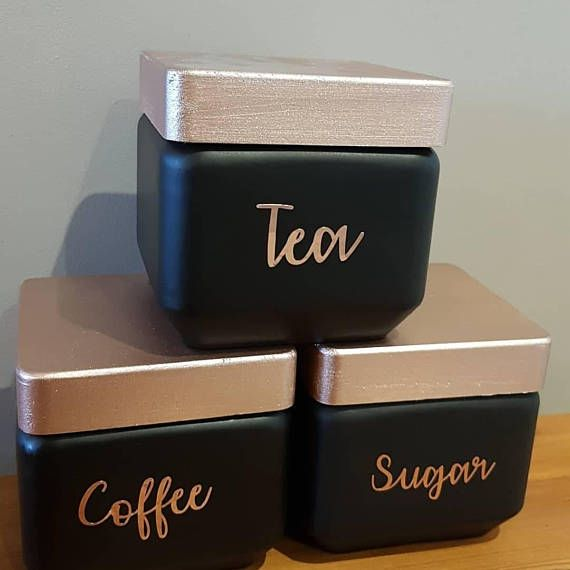 Hey, I found this really awesome Etsy listing at https://www.etsy.com/uk/listing/574506532/teacoffeesugar-cannistersjarsblack-rose