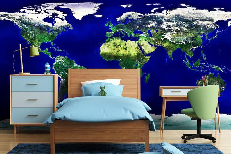 Fototapeta svetovej mapy | DIMEX