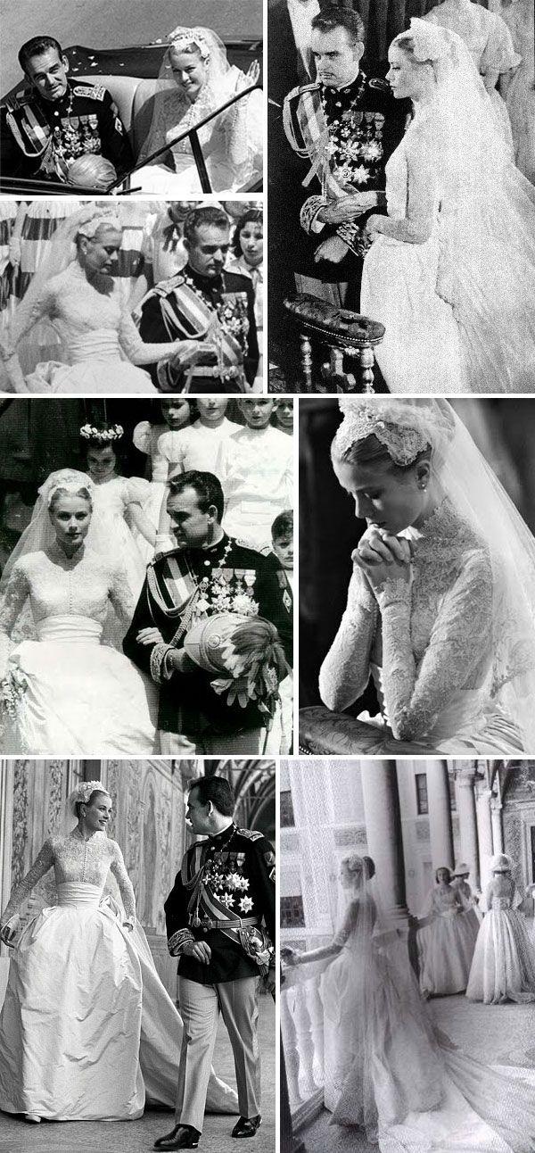 Grace Kelly and Prince Rainer III of Monaco