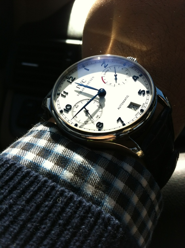 Another IWC Portuguese.  Just beautiful.