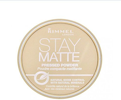 Rimmel London Stay Matte Pressed Powder, Sandstorm [004], 0.49 oz (Pack of 3) - http://buyonlinemakeup.com/rimmel/pack-of-3-rimmel-london-stay-matte-pressed-powder-0