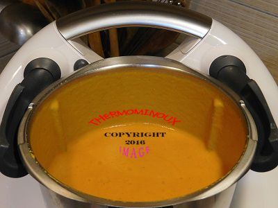 SOUPE A L'INDIENNE (thermomix)