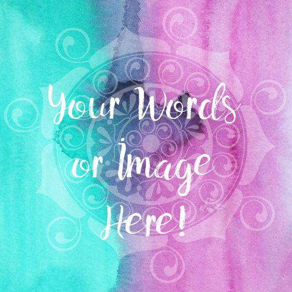 Pink  Instagram Image  Mandala Image  feather by SkymarcanoShop