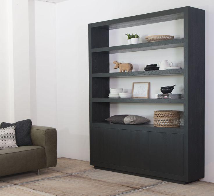 20 beste idee n over zwarte boekenkast op pinterest boekenkasten een boekenkast inrichten en - Eigentijdse boekenkast ...