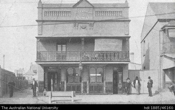 Petersham Inn,Parramatta Rd,Petersham in 1906.Photo from The Australian National University.A♥W
