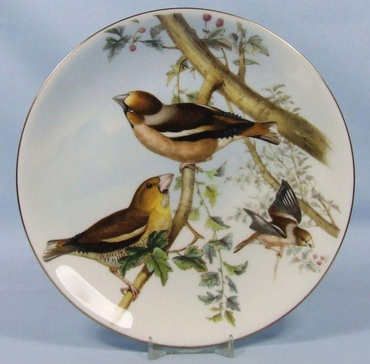 John Gould's Birds of Great Britain: The Hawfinch - Coalport