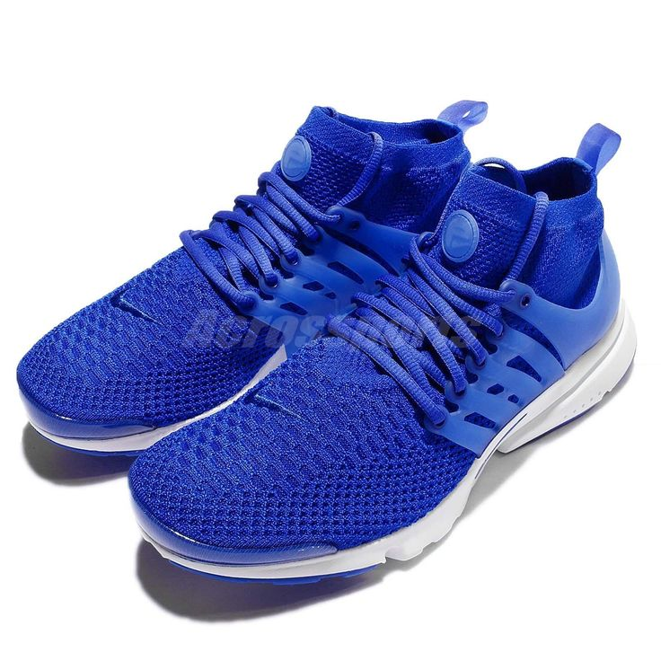 Nike Air Presto Flyknit Ultra Racer Blue White Mens Shoes Sneakers 835570-400