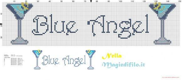 Torchon Blue Angel