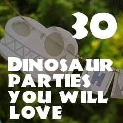 30 Dinosaur Birthday Party Ideas You Will Love