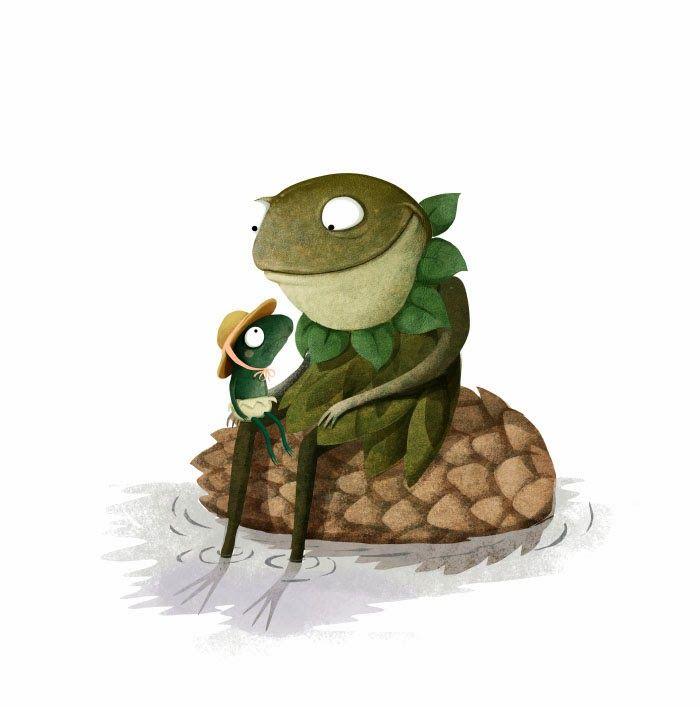 emiis: Uśmiech dla Żabki/ A smile for little Frog