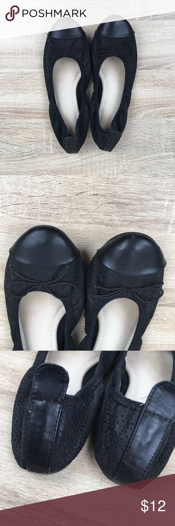 Restricted Ballet Flats Good used condition Restricted ballet flats. Size has rubbed off but they fit like a 7. Restricted Shoes Flats & Loafers