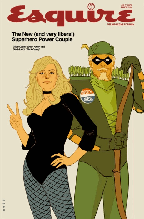 green arrow valentine