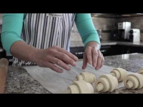 Παρασκευη croissant - Πώς το κάνουμε - ΜΟΝΟ ΜΕ VIDEO - KOUKOUZELIS marke...