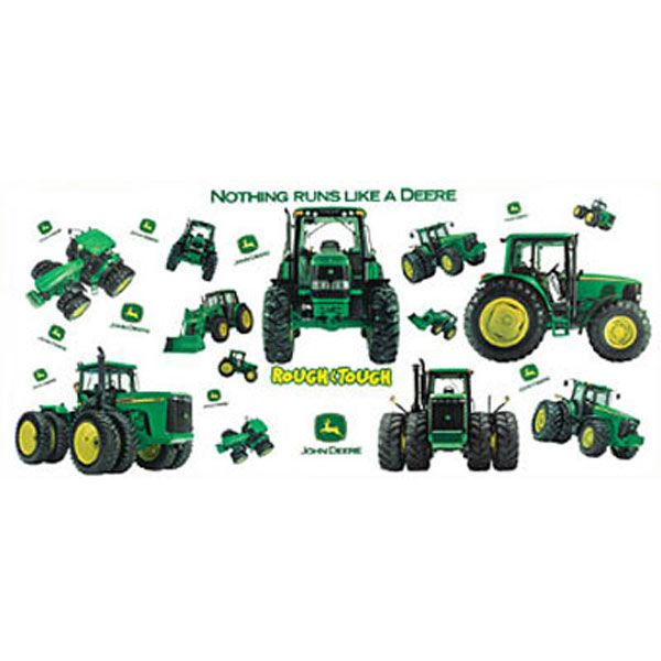 76 best gabe39s room images on pinterest 3 4 beds child for Kitchen cabinets lowes with john deere wall art