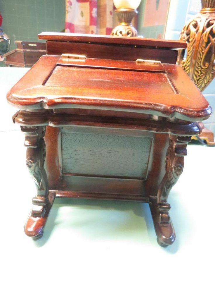 miniature salesman sample gorgeous ornate desk - Sample Furniture