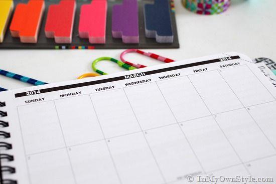 Fresh Start: Planner Organization Ideas + Giveaway