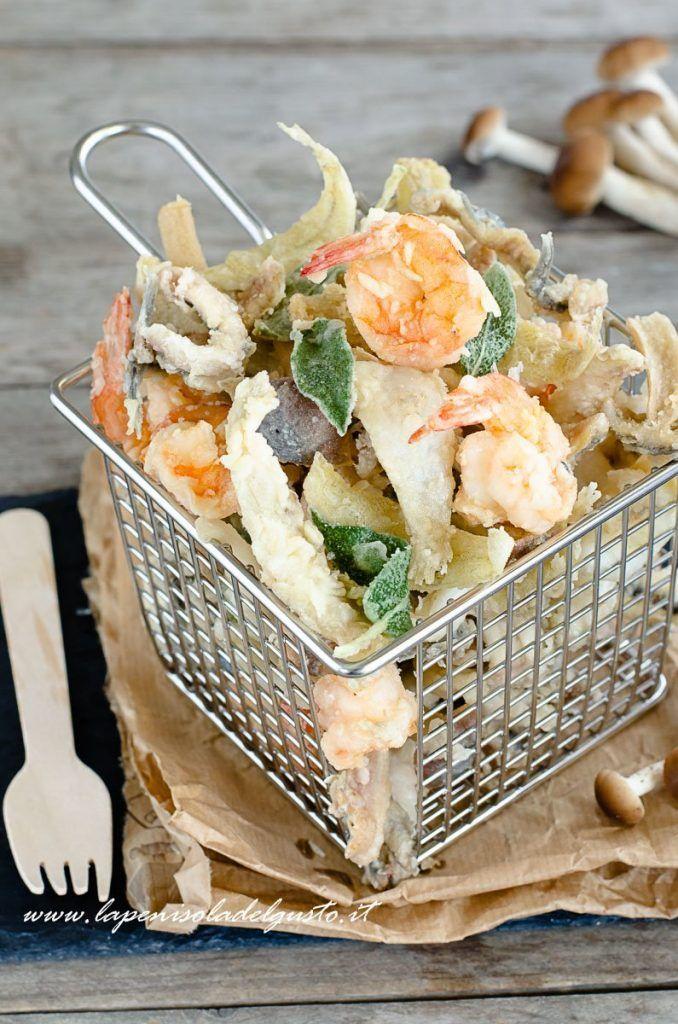 Fritto Misto Di Pesce Frittura Super Croccante Great Recipes Nel