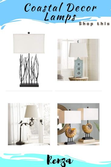 Beautiful Coastal Style Decor Lamps For Your Home