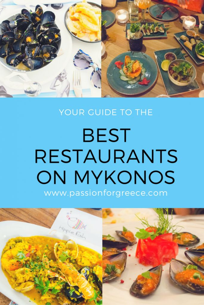 Best Restaurants on Mykonos - Passion for Greece