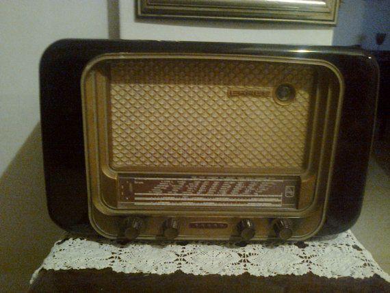 1953 radio model KY536 Erres Van der Heem NV by Vintageandelegant, €2600.00