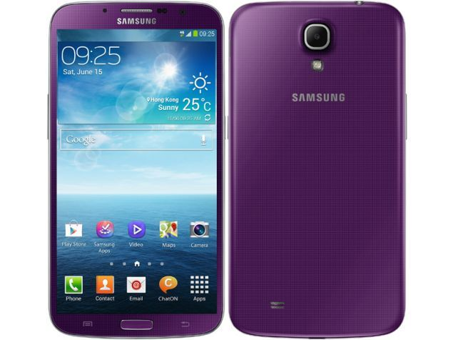 Samsung Galaxy Mega 6.3 in purple. Because the purple colour is created by combining a strong warm with a strong cool colour, the colour retains both warm and cool properties. On one hand, the colour purple can boost imagination and creativity, on the other, too much purple can cause moodiness.#colour #colourpsychology #purple #colourmeaning #samsung #cute #love #sprout #freedomtogrow #smartphone