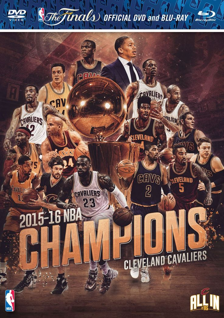 Picture of 2016 NBA Champions DVD and Blu Ray Combo Pack