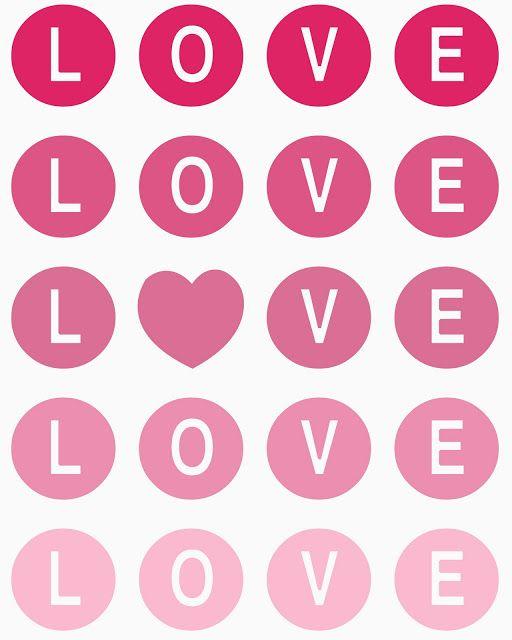 Imprimibles para San Valentín | con P de Papel