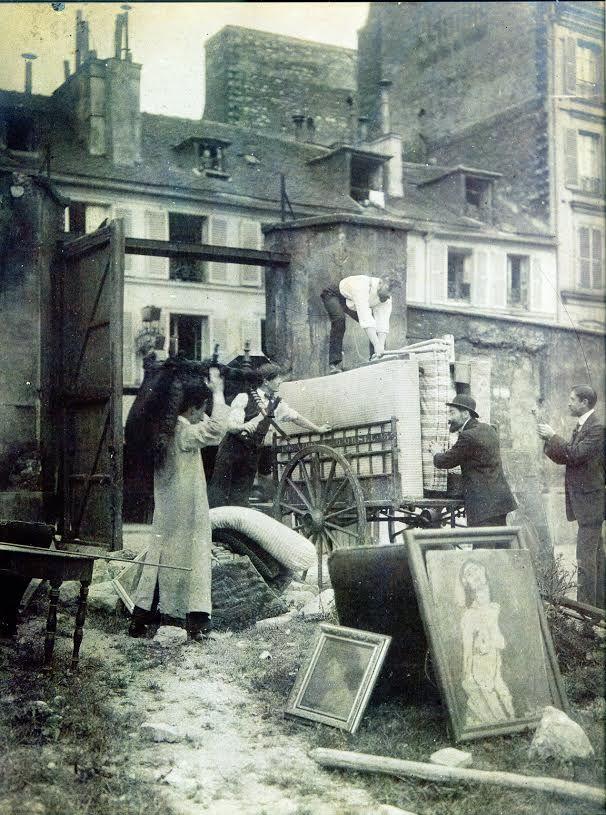 Modigiliani Moving his Studio 1913