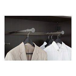 KOMPLEMENT Kleiderstange, ausziehbar, dunkelgrau - dunkelgrau - 100x35 cm - IKEA