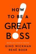 """What does it mean to be a great leader? Gino Wickman and René Boer believe it means inspiring employees to bring their """"A game"""" every day. They also believe there are specific skills that managers can master to become great. In How to Be a Great Boss, business leaders will learn the importance of delegating work, how to evaluate personnel, essential leadership and management practices, effective communication skills, and new ways to deal with employees who are not meeting expectations."""