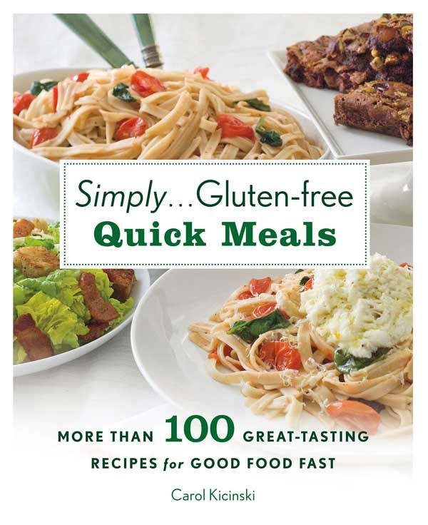 A review of new cookbooks, including Simply...Gluten-Free Quick Meals