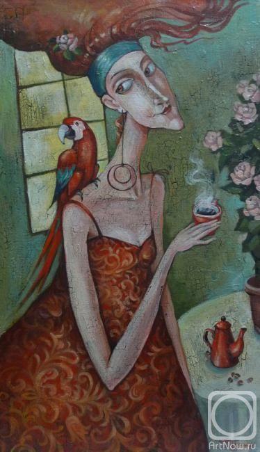 """Панина Кира. Черный кофе """"Красный попугай"""""""