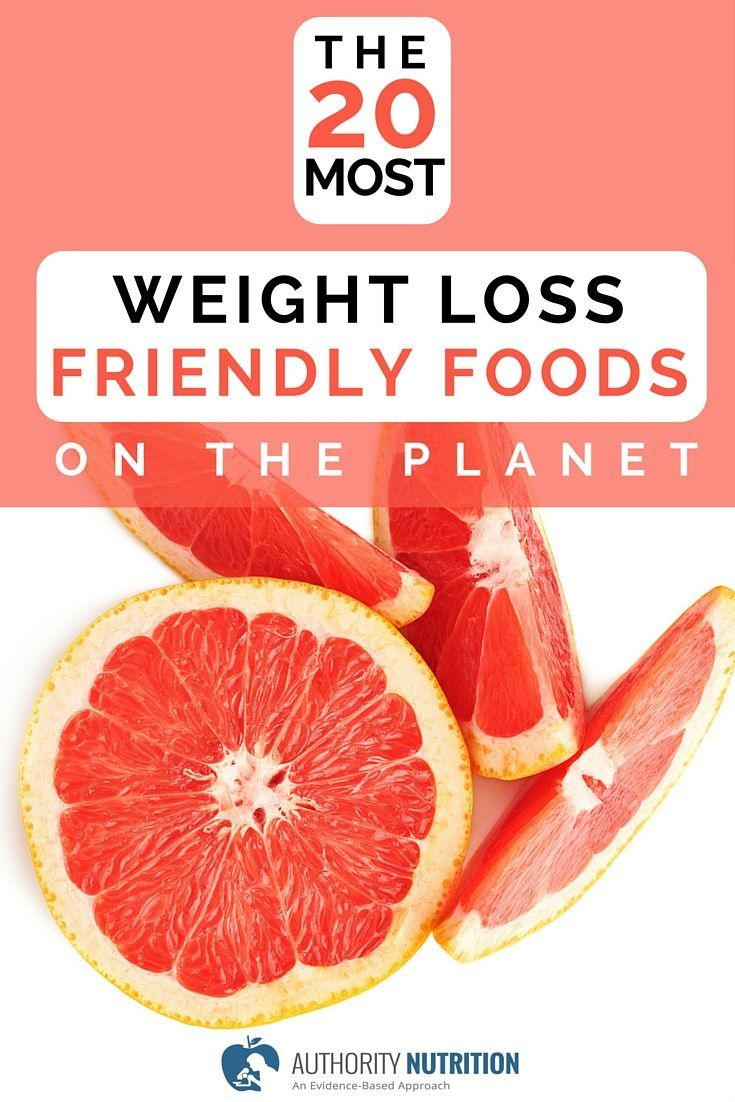 The 20 Most Weight Loss Friendly Foods on The Planet ...
