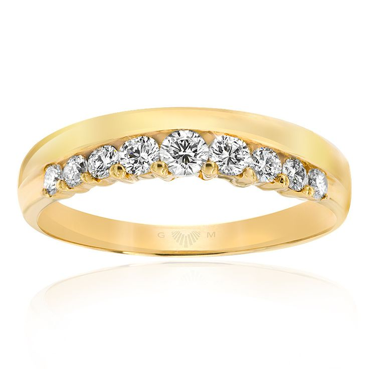 Celebrate life and love with the [ORO]3 Together Forever diamond ring. Crafted in 18ct yellow gold. [ORO]3 rings are custom made for your finger size. Delivery is approximately 6 weeks. Pre order now.
