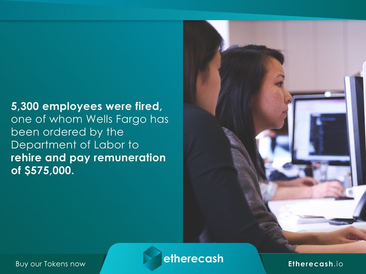 Etherecash.io. The Wells Fargo Saga is only one of many to plague the financial sector. Could the blockchain be the only way forward to prevent corporate financial fraud? Developed on the ERC20 blockchain technology with lawyer backed contracts, to make blockchain backed lending and fund management, private and seamless. Buy our tokens now. Visit Etherecash.io.