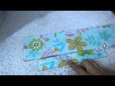 Faixa de tecido para cabelo estilo turbante por Artesanato e Costura da Mi | Cantinho do Video Costura em Roupas