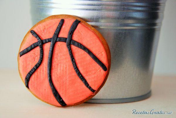 Galletas de baloncesto
