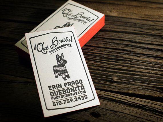 Biglietto da visita stampa tipografica e Graphic Design pacchetto w / stampa bordo - 100qty personalizzati