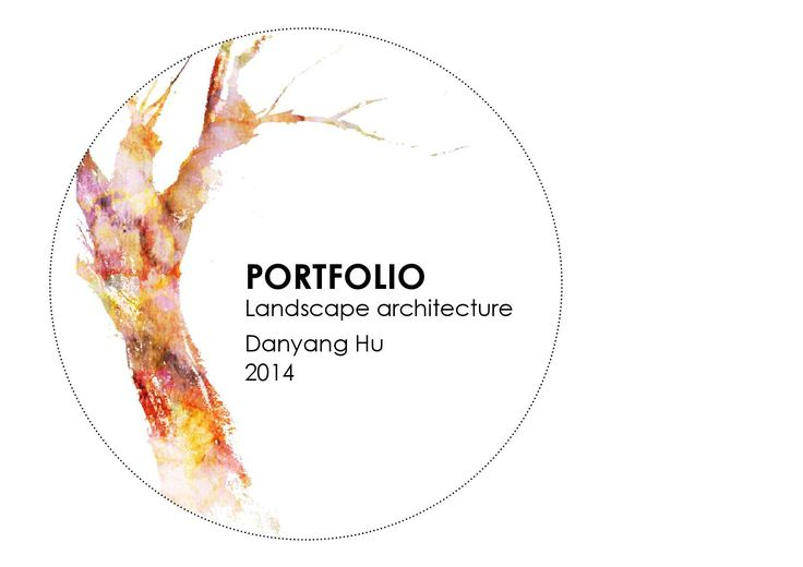 Danyang Hu  Landscape architecture portfolio