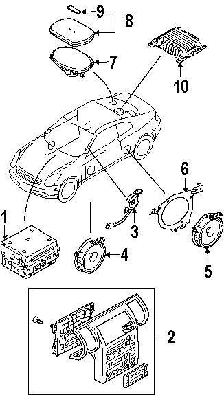 2003 Infiniti G35 Parts - Infiniti parts