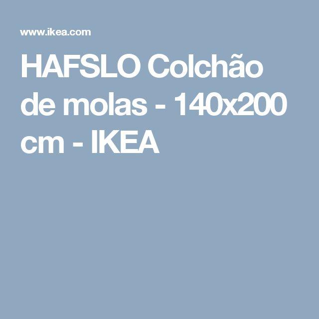 HAFSLO Colchão de molas - 140x200 cm - IKEA
