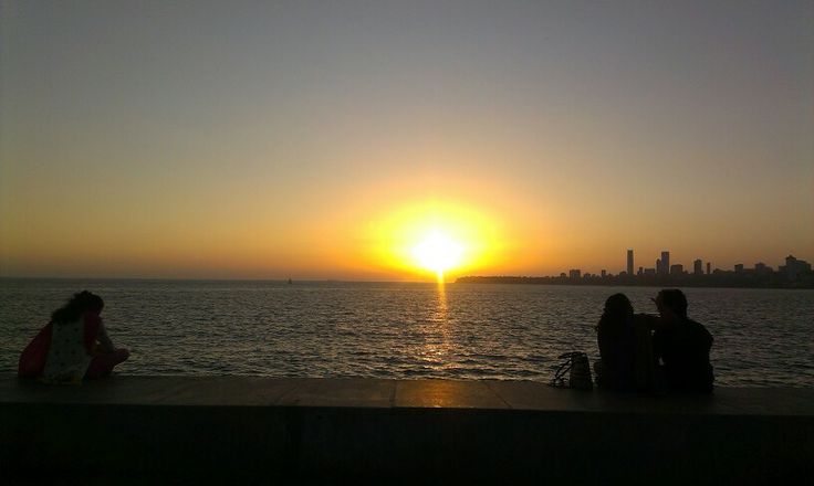 Marine drive...an evening view...and the best place to hangout...
