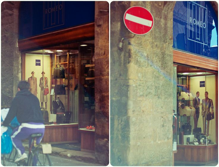 #helios #diptych #details #outdoors #Florence #life #moments #mamba #city #shop #center #building #glass  #mannequin #people #light #shadow #day by Olga Tkachenko