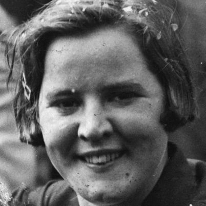 Gertrude Ederle.  First woman to swim the English Channel in 1926 (beating the men's record by one hour and 59 minutes!)